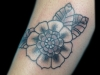 Suze-Flower-Black-Gray-Tattoo