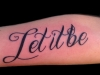 Suze-Let-It-Be-Script-Tattoo